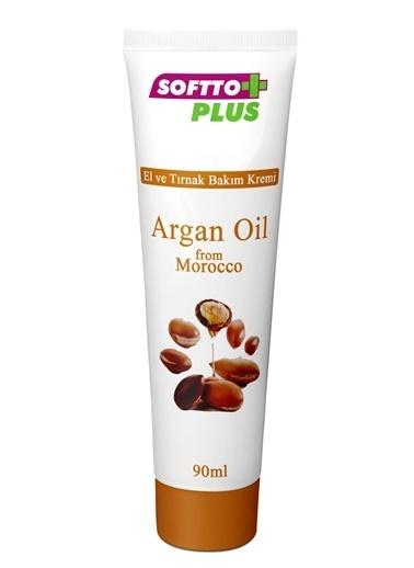 Softto Plus Argan Yağlı El Kremi Renksiz